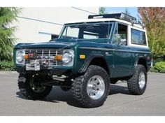 1975 Ford Truck Colors Bronco Sport 351 Windsor With Roof Rack Winch Extras For Johnny Sports And