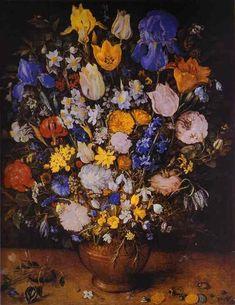 "Jan Brueghel ""Aksamitny"" - Bukiet kwiatów"