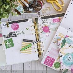 5 Ways to use Heidi Swapp Fresh Start Stickers by Jamie Pate | @jamiepate for @heidiswapp