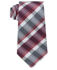 Kenneth Cole Reaction Men's Jewel Plaid Tie - Ties & Pocket Squares - Men - Macy's