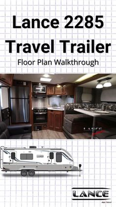 With two convenient entries, you're bound to have a lot of company, and for good reason! Travel Trailer Floor Plans, Great Rooms, Master Suite, Kitchen Cabinets, Layout, How To Plan, Travel Trailers, Camper, Home Decor