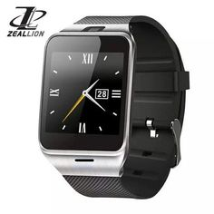 Smart Watch GV18 Clock Sync Notifier Support Sim Card Bluetooth Connectivity for iphone Android Phone Smartwatch