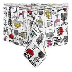 Marimekko tablecloth (& napkins) from Crate