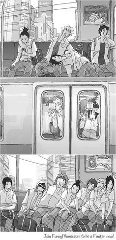 Indo além da caixinha: Vida de transporte público.