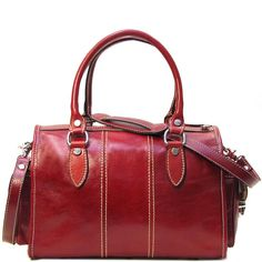 Italian Leather Handbag - Venezia Handbag in Tuscan Red - Handmade Italian Leather Handbags Tan Leather, Leather Wallet, Louis Vuitton 2017, Italian Leather Handbags, Swag Outfits For Girls, Wholesale Bags, Red Handbag, Leather Bags Handmade, Leather Design