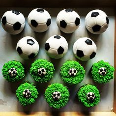 Celtic Football Cupcakes From Little Lette Cakes Cakes