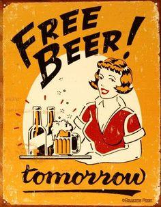 Best Marketing for bars - http://www.nuffy.net/pics/cool/women-beer/women_beer_poster_old_20.jpg