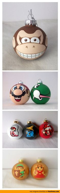 24 Cool Things to Hang in Your Christmas Tree this season - Exterior and Interior design ideas