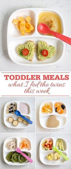 Toddler Meals: What