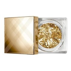 Burberry Gold Shimmer Dust ($29) ❤ liked on Polyvore featuring beauty products, makeup, eye makeup, beauty, cosmetics, eyes, eyeshadow, gold, burberry cosmetics and highlight makeup