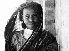 Egypt. Bedouin girl