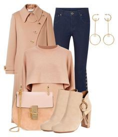 """""""Chloe"""" by lechara ❤ liked on Polyvore featuring Chloé and See by Chloé"""