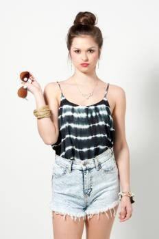 Tie Dyed Tank : Swoon Boutique