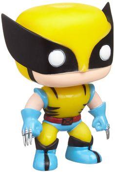Funko - Pdf00003919 - Figurine Bande Dessinée - Pop - Marvel - Xmen - Wolverine Jaune: Amazon.fr: Jeux et Jouets
