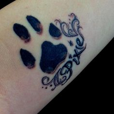 Pet Memorial Tattoos   Pet memorial tattoo   No love like the love of a dog