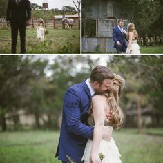 rustic first look