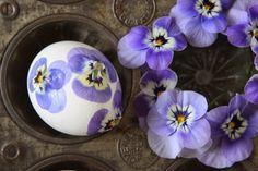Sjarmerende GJENBRUK, Easter eggs, spring