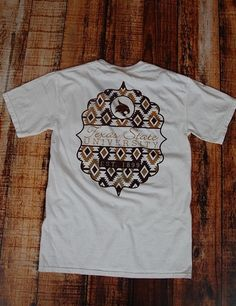 TX State Tribal Pocket Tribute - WHITE at Barefoot Campus