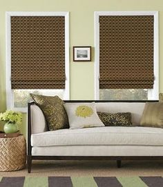 Diy roman shades made from mini blinds