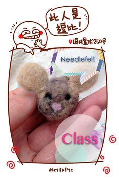 Needle felt a valentines day chinchilla tutorial! chibi chinchilla love!