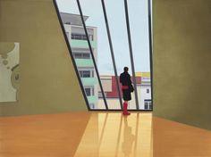 thunderstruck9:  Tim Eitel (German, b. 1971), MMK, 2001. Oil and acrylic on canvas, 180 x 240 cm.