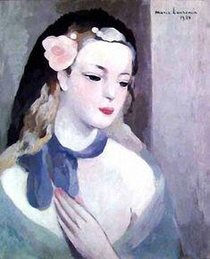 Marie Laurencin Blue ribbon