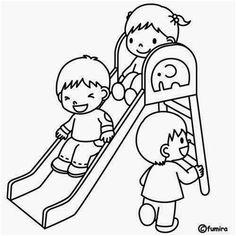 Dibujos para colorear. Maestra de Infantil y Primaria.: El colegio. Dibujos para…