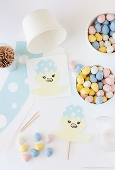 DIY Easter Egg Candy Cups   Get the Tutorial & Printable at Design Eat Repeat