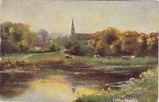 Artist Drawn, Riverside View, CLIFTON HAMPTON, Oxfordshire