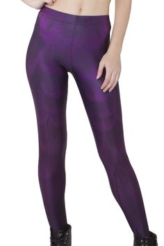 BOXING DAY - Violet Feather Leggings