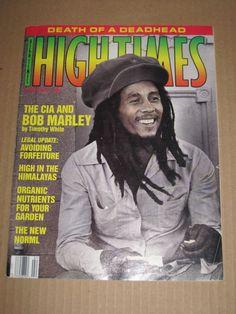 HIGH TIMES MAGAZINE BOB MARLEY (FEB. 1990)