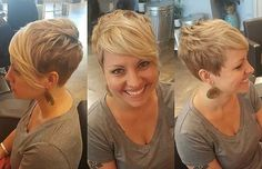 Please tag if you know where this super cute pixie is from!! #pixiecut #undercut #shorthair #shorthairlove #hair #haircut #hairstyle