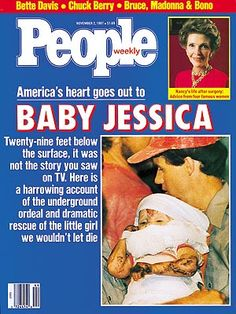 Baby Jessica in the well. I was glued to it especially because my younger daughter was the exact same age as Baby Jessica. My Childhood Memories, Great Memories, Early Childhood, Childhood Toys, School Memories, Baby Jessica, Retro, 80s Kids, I Remember When
