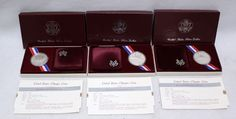 905 1984-S US Olympic Proof Silver Dollar Commemorative Coin Maroon US Mint Box 900 #US #silver #proof #coin #commemorative