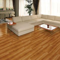 Add The Deep Texture Of Hardwood Flooring In To Your Living E With Trafficmaster Allure Ultra Red Cherry Luxury Vinyl Plank