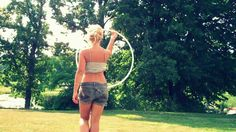 I love this so much ...Gabriella J Ricci - Hula Hoop Dance to - Lindsey Stirling