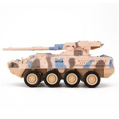 a94f4b617c89 14 5.5 4.5CM Camouflage Green Yellow Leopard Tanks RC Tank System Remote  Control