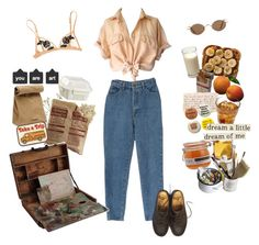 """""""tears of sunset"""" by nadyaarw on Polyvore featuring FREDS at Barneys New York, Jil Sander, Mason's, Dr. Martens and Crate and Barrel"""