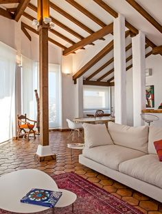 Una casa rústica con aires modernos