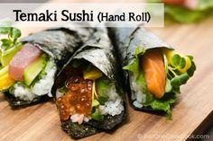 Temaki Sushi (Hand Roll) 手巻き寿司