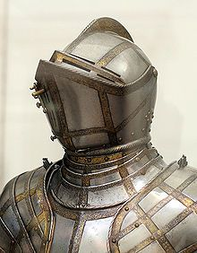 English style of plate armour of the 16th and 17th centuries