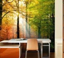 Fototapeten Wald - Eine frische Entscheidung für Ihre Wände Es ist wohl überflüssig zu sagen, dass die Natur eine wohltuende Wirkung auf uns hat. Was kann..