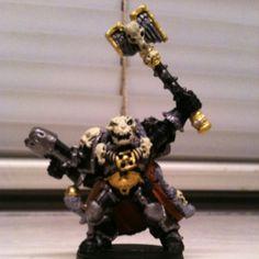 My bfs' talent- warhammer