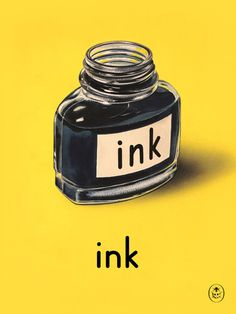 Ink Art Print by Ladybird Books