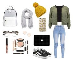 """Untitled #16"" by ele-duperray on Polyvore featuring Getting Back To Square One, W118 by Walter Baker, adidas Originals, Miss Selfridge, Witchery, Poverty Flats and Ted Baker"