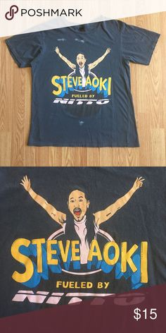 Vintage Steve Aoki T'shirt Up for sale is a Vintage Steve Aoki T'shirt in A+ condition with no flaws ! Shirts Tees - Short Sleeve
