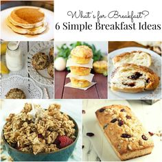 6 Breakfast Ideas That are Easier Than You Think!