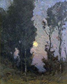 landscape painting by Marc Aurèle de Foy Suzor-Côté, 1927 Abstract Landscape, Landscape Paintings, Art Amour, Art Ancien, Nocturne, Paintings I Love, Love Art, Land Scape, Monet