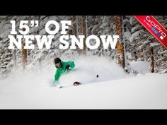 """15"""" Of New Snow at Aspen/Snowmass"""