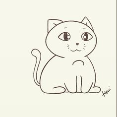 #cats #cat #catsofinstagram #cute #kitten #kittensofinstagram #kittens #macska #cica #katzen #katze #mao #gato #henipatricia #drawings #sketch #design Drawing S, Cute Drawings, Cats Of Instagram, Hello Kitty, Fictional Characters, Design, Art, Gatos, Cats